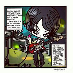 ☆My first comic strip on PLACEBO band...  @placeboworld #placebo #placeboworld #placebo20 #placeboworldtour #aplaceforustodream #placeboband #20yearsplacebo #brianmolko #brianmolkoart #rockbands #alternativerock #punkrocker #placebofans #characterdesigns #punkrock #postpunk #punkrockstyle #music #placebostripstory #kittylapesteart #placebostrip #characterdesign #comicstrip #rivermanbangkok #rivermanmanagement