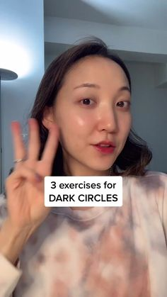 highly requested!! More tips on IG: GLOWWITHAVA 💖 #beautytipswithava #facialmassage #darkcircles #lymphaticdrainage #skincareroutine Beauty Tips For Glowing Skin, Diet For Glowing Skin, Glowing Face, Face Yoga Exercises, Skin Care Routine Steps, Face Routine, Facial Yoga, Healthy Skin Tips, Face Skin Care