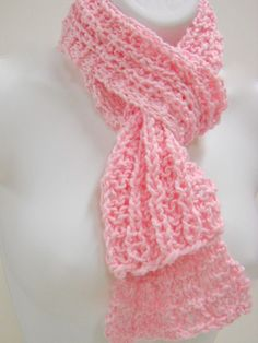 hand knit AND pink!  :)