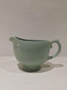 Beryl woods ware  slip ware milk jug   First seen late 1928