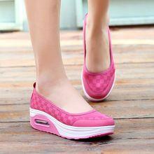 Zapatos de mujer zapatos de plataforma 2016 de verano de malla transpirable zapatos de las mujeres ocasionales(China (Mainland))
