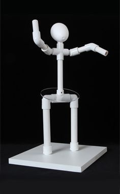 pvc pipe to sculpt person with rice krispie treats - Google Search