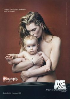 Brooke Shields and daughter Rowan by Annie Liebovitz, 2004.