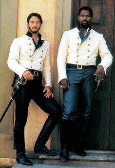 Much Ado About Nothing. Starring: Keanu Reeves as Don John. Don Pedro's evil half brother and Denzel Washington as Don Pedro of Aragon Keanu Reeves, Keanu Charles Reeves, Soldado Universal, Don John, Mode Bcbg, I Love Cinema, Actrices Hollywood, Period Costumes, Gorgeous Men