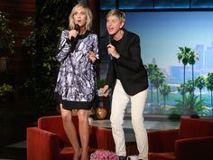 """Just when you thought there was no other cover of the """"Frozen"""" hit worth seeing, Ellen goes and does this."""