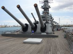 "16"" guns, USS Missouri"