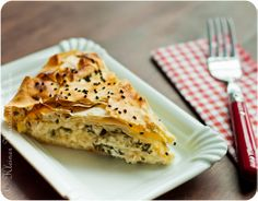 Börek (Pastry). Turkey is famous for its pastries.