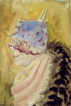 Otto Dix (German, 1891-1969) Girl wearing a Fur, 1927