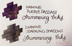 Ink Shot Preview Diamine Shimmer Inks (27)
