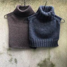Snood Knitting Pattern, Knitting Patterns, Vest Pattern, Knit Vest, Cowl, Knitwear, Knit Crochet, Turtle Neck, Karl Johan