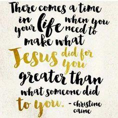 Jesus did greater things...