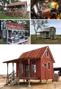 mytinyhousedirectory: 10 Eclectic Tiny Homes Built with 99% Scrap