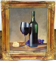 Untitled. First still life ever. Oil on board. Available for purchase. www.gabesimentalfineart.wix.com/artist