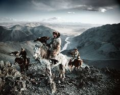 10 Astonishing Portraits Of The World's Most Remote Tribes - Kazakhs