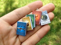 Game of Thrones Miniature Book Bracelet on Etsy, $20.00