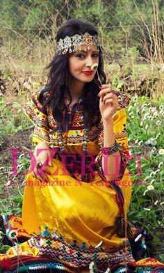 yellow berber dress