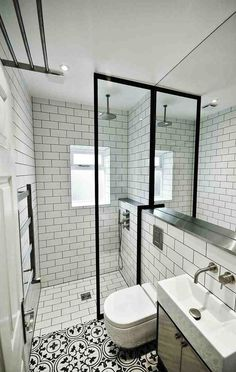 Encaustic tiled Bathrooms | Amberth Interior Design and Lifestyle Blog