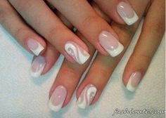 100+ Classic & Delicate French Manicure & other Beautiful Nail Art Designs 2016 2017   Fashion Te