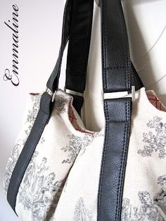 Emmaline Bags & Patterns: Make Your Own Vinyl/Leather Look Handbag Straps - A Tutorial