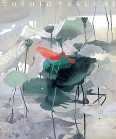 by Toshio Tabuchi Art And Illustration, Illustrations And Posters, Palette Art, Art Pictures, Photos, Korean Art, Japanese Painting, Japan Art, Environmental Art