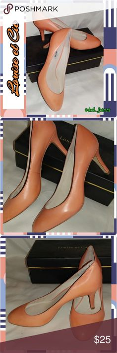 👠Louise et Cie peach pumps👠 👠Louise et Cie peach pumps👠. Worn once. Size 9. DM for more details, offers and bundles. Thank you for looking and don't forget to check out the rest of our closet. XOXO Veronica  #pumps #peach #size9 #louiseetcie #classic #bundleandsave #iloveoffers louise et cie Shoes Heels