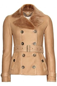 Inspired by the Streets: Shop 11 Fall Jackets: Burberry Brit shearling, $2,541, mytheresa.com.