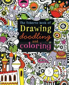Love this book! Coolest doodle book I've seen. 8-year-old approved.