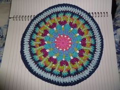 The 8th Gem: Fair Isle Mandala Pattern and pictures