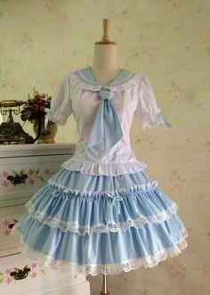 ping summer dress cosplay lolita dress School uniforms skirt suit cos girl sailor uniforms performances Alternative Measures - Brides & Bridesmaids - Wedding, Bridal, Prom, Formal Gown