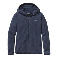 Patagonia Women\'s Better Sweater\u00AE Full-Zip Hoody - Classic Navy CNY. Fair Trade