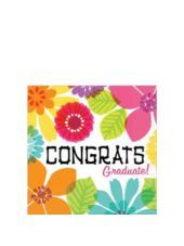 Pink Summer Graduation Beverage Napkins 16ct -Luau Tableware Themes -Luau Theme Party -Theme  sc 1 st  Pinterest & Graduation Luau Lunch Napkins Party Americahttp://www.amazon.com/dp ...