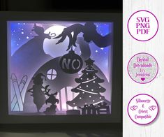 The Grinch Steals Christmas Square 3D Paper Cut Template Light Box SVG Digital Download Files, Shadow Box by Jumbleink on Etsy Shadow Frame, Shadow Box, Quinceanera Gifts, Christmas Squares, Nursery Night Light, Princess Gifts, Cool Gifts For Kids, Paper Light, Disney Gift