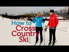Fundamentals of cross country skiing technique - YouTube