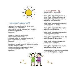 begrüßungslied kindergarten morgenkreis - Google-Suche