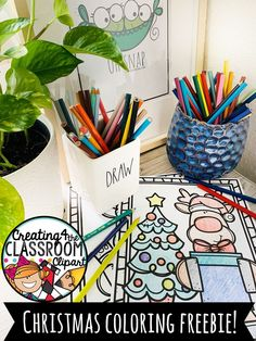 Free Christmas Coloring Pages just in time for the Holidays! These FREE Coloring pages are perfect for Christmas break, early finishers, indoor recess, and more! Be sure to pin them for later- You never know when you may need them ;)