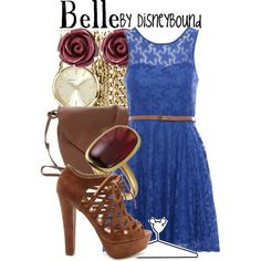 """Belle"" by lalakay on Polyvore"