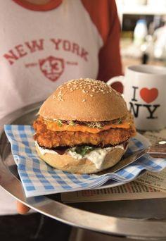Fish Burger, il sapore del mare in un panino - Hamburger: 8 ricette dali Stati Uniti