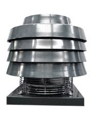 EXTRACTION UNITS - Roof fans for 400ºC/2h - OFT  Draft accelerators for chimneys  Centrifugal backward curved impeller  Normalized motor mounted outside the airflow  Ready to work up to 200ºC continuosly  To be installed to the smokes leak of the chimney  www.airtecnics.com Centrifugal Fan, Door Curtains, The Smoke, The Unit, Fans, Doors, Projects, High Deck, Log Projects