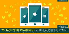iOS, Android & Windows Apps -  Design + Development