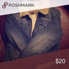 Hollister Denim Jacket Like new, medium, lined denim jacket Hollister Jackets & Coats Jean Jackets