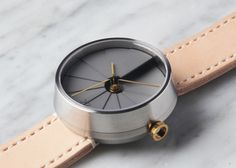 A concrete watch inspired by the simple complexity of time and space, and our fascination with contemporary architecture and design.