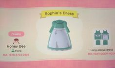 Howl's Moving Castle is my favorite movie! I saw someone made Sophie's dress and hat but didn't put it up so I went ahead and made it so you guys could have it too! Animal Crossing Movie, Animal Crossing Qr Codes Clothes, Anime Animals, Cute Animals, Ac D, Motifs Animal, Animal Cakes, Howls Moving Castle, New Leaf