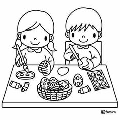 Coloring pages worksheets for preschool - Malvorlage coloring pages coloring sheets coloring pages for kids coloring pages free printable preschool 2019 pdf examle simple Easter Coloring Sheets, Farm Animal Coloring Pages, Bunny Coloring Pages, Easy Coloring Pages, Coloring Pages For Girls, Coloring Pages To Print, Coloring For Kids, Coloring Books, Math Coloring Worksheets