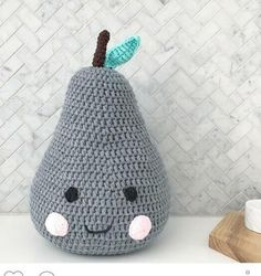Bebes Pillow Knitted Pear Pillows Handmade Baby Room Decoration Child Car Seat Cushion Newborn Bedding Dolls Kids Gift Pink Gray-in Pillow from Mother & Kids on Aliexpress.com | Alibaba Group