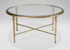 Heron Round Coffee Table - Ethan Allen