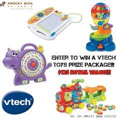 VTech Learning Toys Prize Package #Giveaway ~ $125 Value!! (ends 10/6)  @vtechtoys  .    http://africasblog.com/2015/09/25/vtech-prize-package-giveaway/