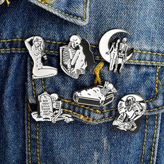 Apparel Sewing & Fabric Arts,crafts & Sewing Steady 1 Pcs Cartoon Cute Animal Cat Rabbit Metal Brooch Button Pins Denim Jacket Pin Jewelry Decoration Badge For Clothes Lapel Pins