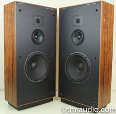 Boston Acoustics Vintage Floorstanding Speakers - The Music Room Erie Colorado, Audio Design, Audio Room, Speakers, Acoustic, Locker Storage, Boston, Music, Loudspeaker