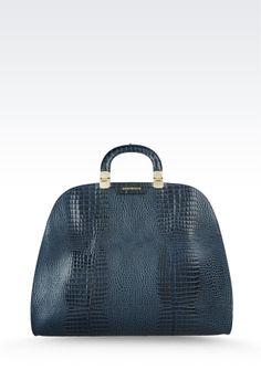 2381dc67dfc1 Emporio Armani Calfskin Handbag With Croc Print 2013 Gucci Clutch