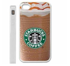 I phone case. Hahaha! That would just make me want a Starbucks all the time!